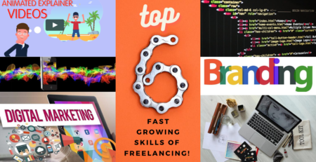 Top 6 Fast Growing Skills To Start Your Career In Freelancing 2021