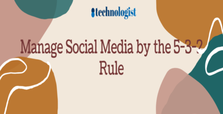 Manage Social Media by the 5-3-2 Rule